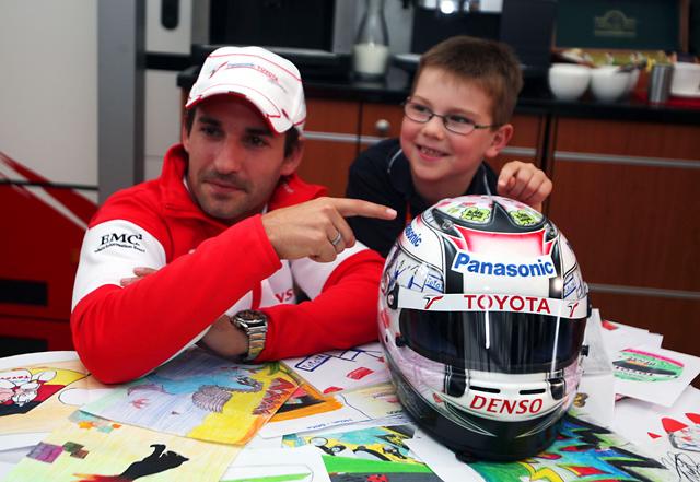 グロック、スペシャルカラーのヘルメットをドイツGPで使用