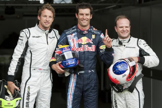 F1ドイツGP予選、ウエーバーが初のポールポジションを獲得(2)