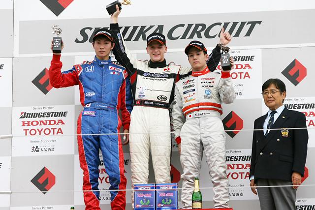 【JF3A】全日本F3第9戦決勝:国本「ポイントリーダーは嬉しいが気を緩めずいきたい」(2)