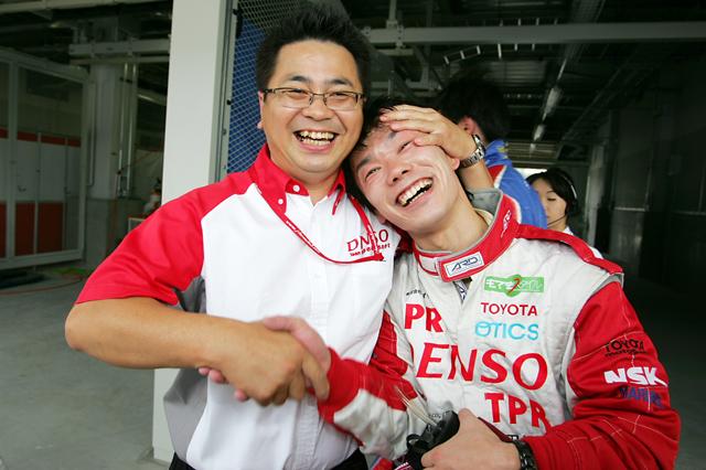 全日本F3第10戦:エリクソン、逃げ切りでポール・トゥ・ウイン(4)
