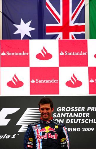 F1ドイツGP 表彰台