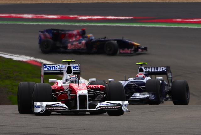 【トヨタF1】F1第9戦ドイツGP決勝 T.グロックが追い上げたが惜しくも入賞を逃す(1)
