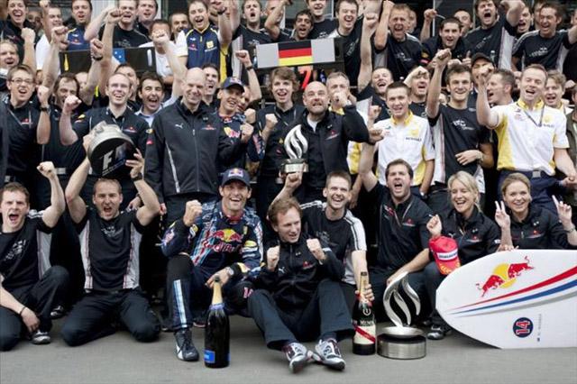 ドイツGP日曜ドライバーズコメント:ウエーバー「今まで支えてくれた皆にとって素晴らしい一日」(2)