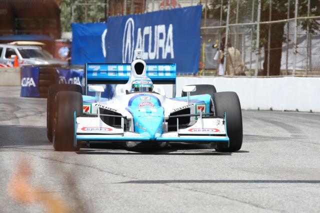 IRL:第10戦トロントはフランキッティがポール・トゥ・ウインで今季3勝目(4)