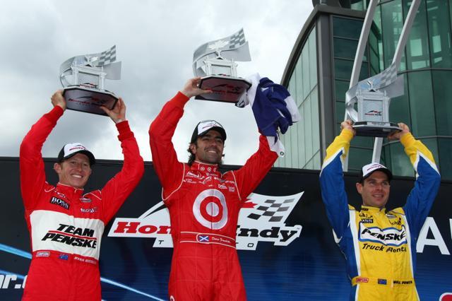 IRL:第10戦トロントはフランキッティがポール・トゥ・ウインで今季3勝目(5)