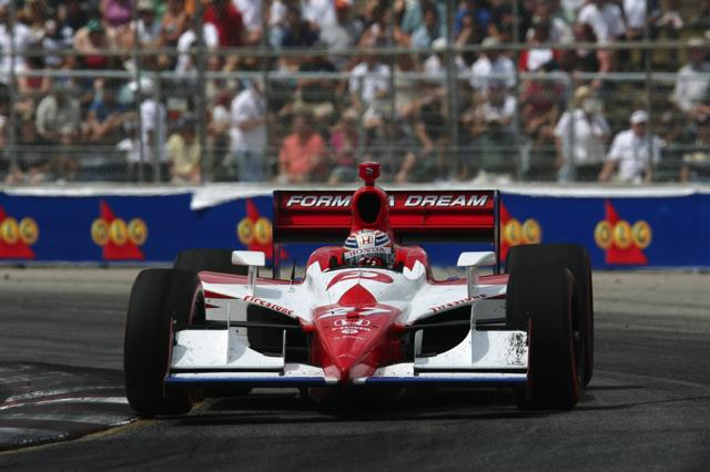 【Honda】IRL第10戦トロント:ダリオ・フランキッティが今季3勝目 武藤英紀は12位(4)