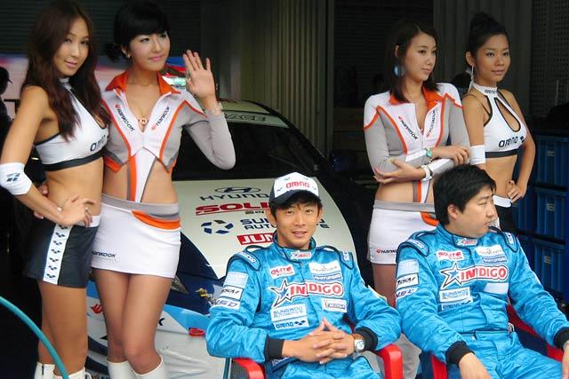 阪口良平、韓国レースに今季2回目の挑戦 PP獲得も雨に足下をすくわれる(2)