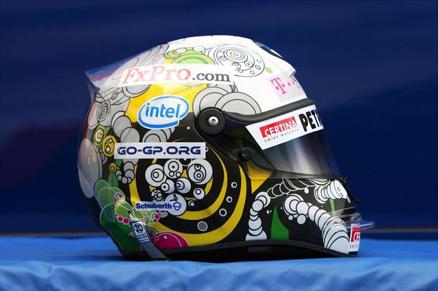 【シューベルトヘルメットジャパン】デザインコンテスト優秀作ヘルメットをハイドフェルドがドイツGPで使用(1)