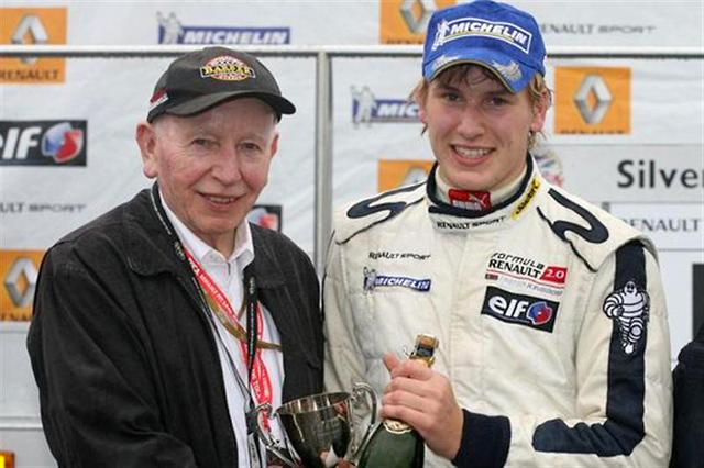 サーティースの息子・ヘンリーがF2レース中にケガ(1)