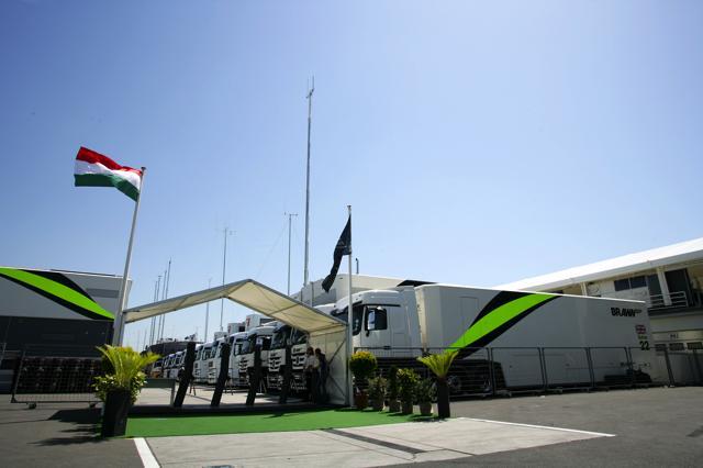 F1第10戦ハンガリーGP 金曜日
