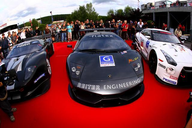 FIA GT第4戦スパ予選:マセラッティがトップ3を独占。GT-Rは8番手(5)