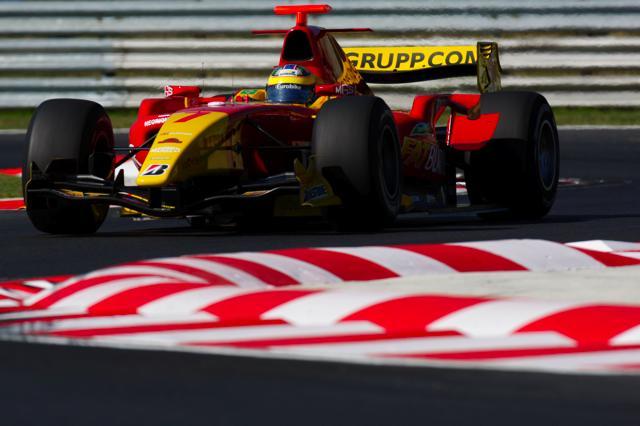 GP2ハンガリー予選:ディ・グラッシがシリーズ初のポールを獲得(2)