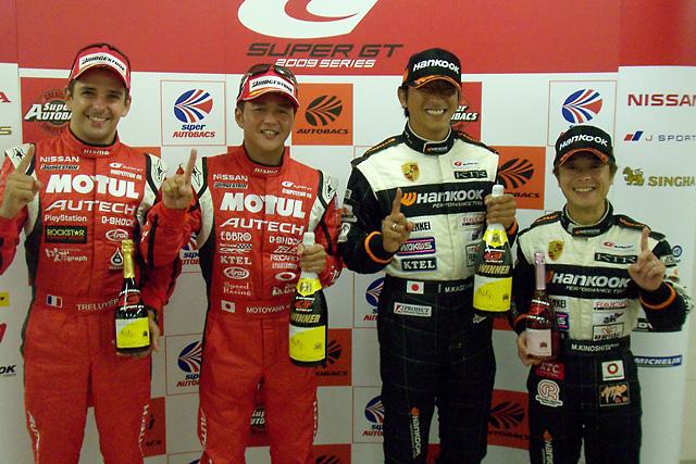 S-GT第5戦SUGO:本山「SUGOで日産車が勝つことができて嬉しく思う」(1)