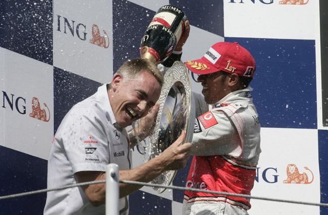 F1ハンガリーGP決勝:マクラーレンのハミルトンが今季初優勝! フェラーリもライコネンが2位(4)