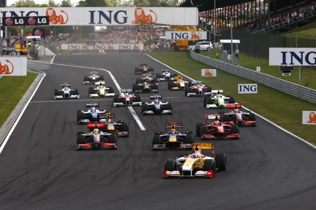 F1ハンガリーGP決勝:マクラーレンのハミルトンが今季初優勝! フェラーリもライコネンが2位(2)
