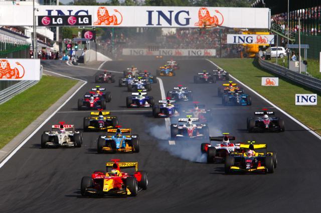 GP2ハンガリー第1レース:フルケンベルグが前戦からの3連勝を飾る(2)