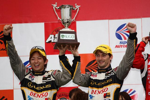 【GRM】SUPER GT Rd.5 SUGO ドライ&ウエットの難しいレースでA.クートが2位表彰台!(1)
