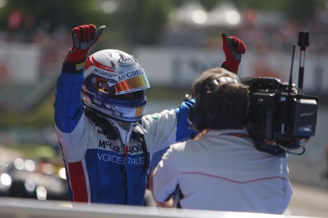 GP2ハンガリー第2レース:ギド・バン・デル・ガルデがシリーズ初優勝を飾る(1)