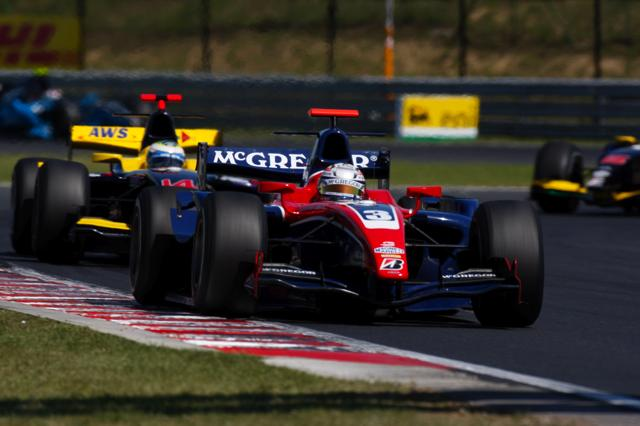 GP2ハンガリー第2レース:ギド・バン・デル・ガルデがシリーズ初優勝を飾る(3)