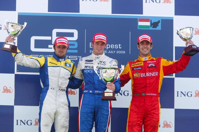 GP2ハンガリー第2レース:ギド・バン・デル・ガルデがシリーズ初優勝を飾る(4)