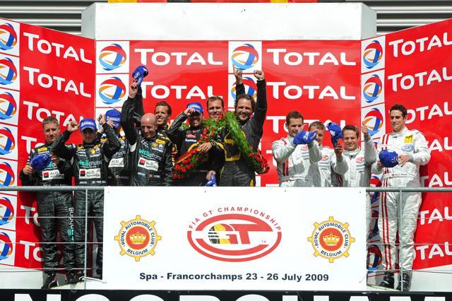 FIA GT第4戦スパ24時間決勝:コルベット4号車が優勝。GT-Rは総合13位でチェッカー(5)