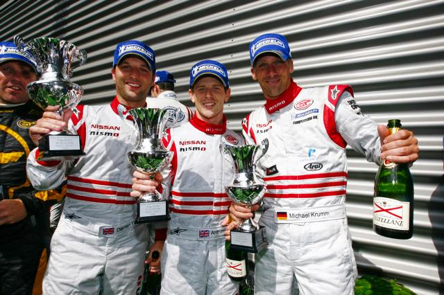 【NISMO】NISSAN GT-R、初めてのスパ24時間レースで完走 GT1クラス3位入賞(3)