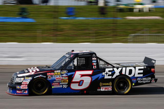 【トヨタモータースポーツニュース】NASCAR CAMPING WORLD TRUCK SERIES 第13戦 マイク・スキナーが2戦連続2位(1)