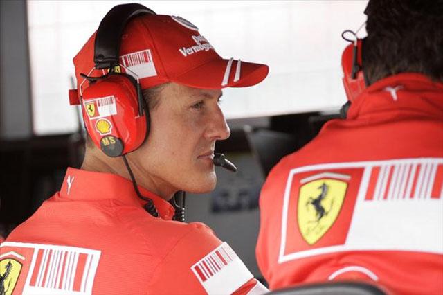 シューマッハー、F1復帰をキャンセル! 首の怪我が治らず(1)
