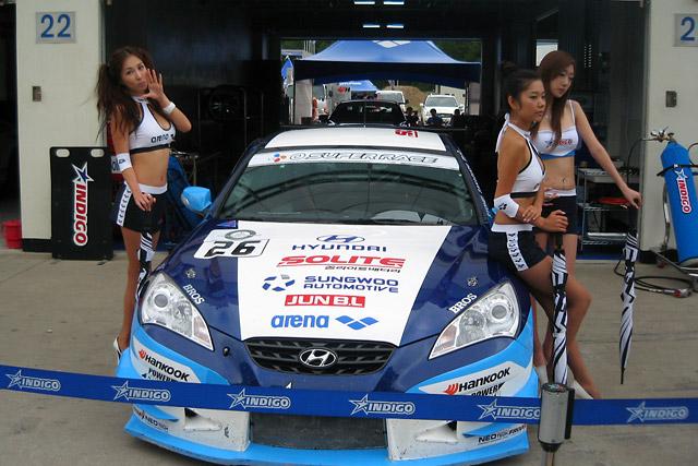 阪口、韓国レースでW表彰台獲得 青木、番場も挑戦(1)
