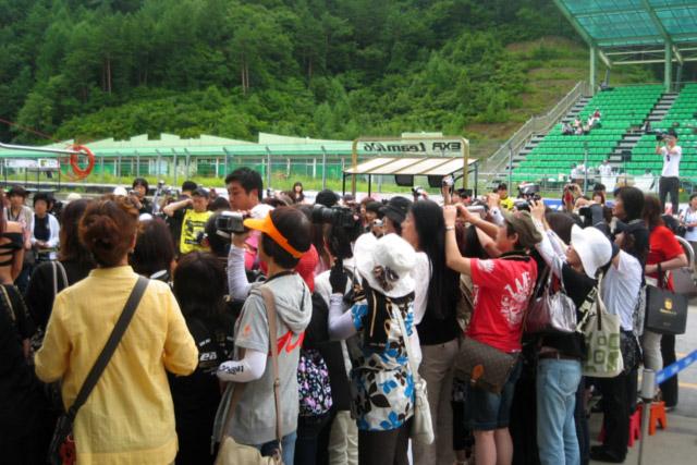 阪口、韓国レースでW表彰台獲得 青木、番場も挑戦(3)