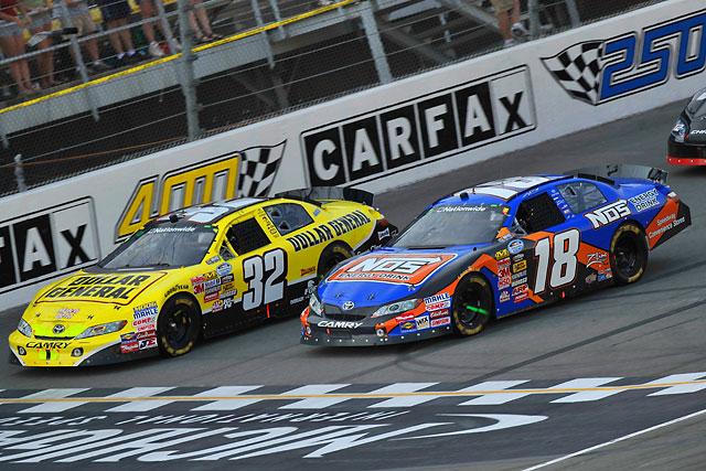 【トヨタモータースポーツニュース】NASCAR NATIONWIDE SERIES第23戦 ヴィッカーズとブッシュが惜しくも2-3位(1)