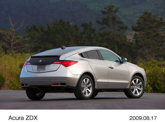 【Honda】北米で発売予定のアキュラ「ZDX」の概要を発表(2)