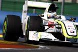 F1   ブラウンGP「低気温のスパはテストの場」。問題克服か否かが明らかに
