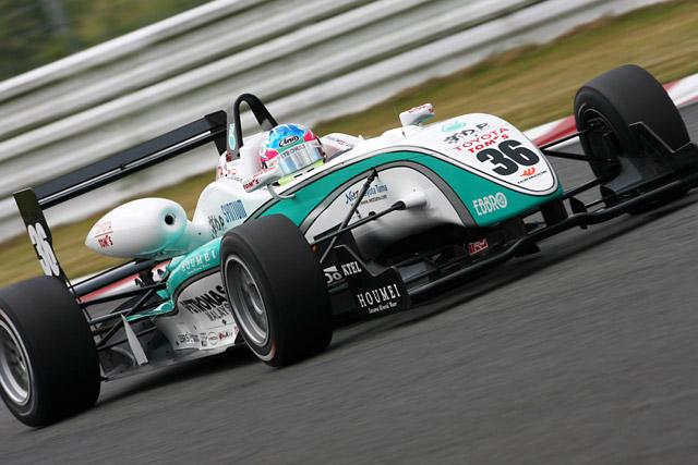 全日本F3第13・14戦予選:井口がWポールを獲得(1)