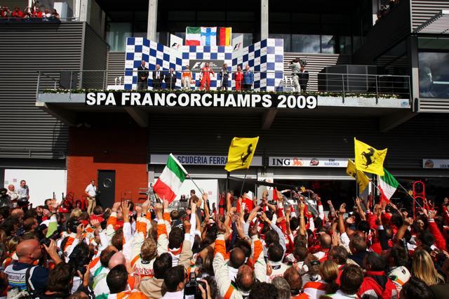 F1ベルギーGP 決勝:フォース・インディアのフィジケラが大健闘2位、ライコネンが今季初優勝(3)