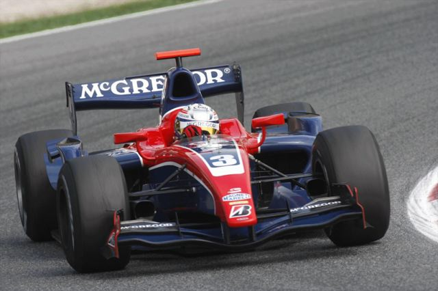 GP2第16戦スパ・フランコルシャン:バン・デル・ガルデが今季2周目(1)