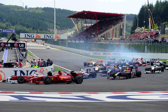 F1ベルギーGP 決勝:フォース・インディアのフィジケラが大健闘2位、ライコネンが今季初優勝(2)