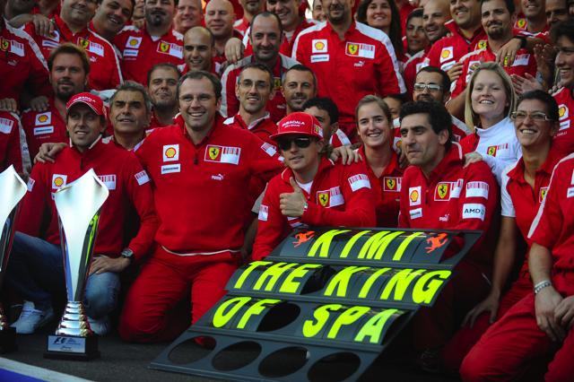 F1ベルギーGP 決勝