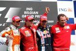 F1   ベルギーGP日曜ドライバーズコメント:ライコネン「シャンパンはいつもの味だけど、気分は全く違う」