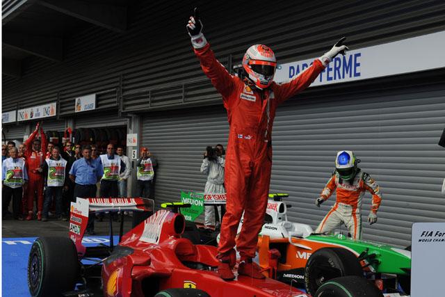 ベルギーGP日曜ドライバーズコメント:ライコネン「シャンパンはいつもの味だけど、気分は全く違う」(2)