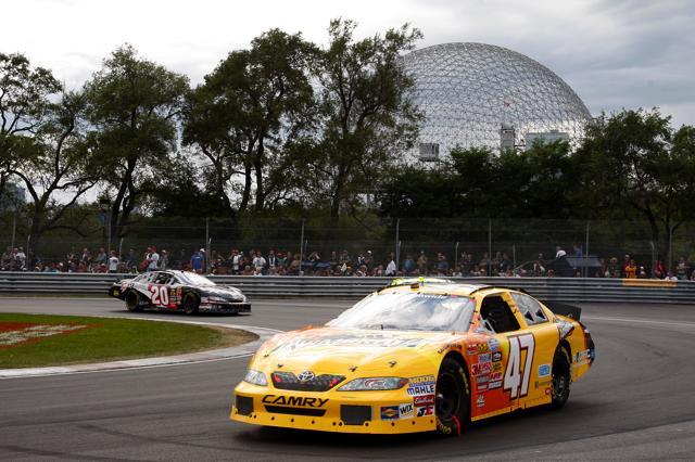 【トヨタモータースポーツニュース】NASCARモントリオールのロードコースでマーコス・アンブローズが無念の2位(1)