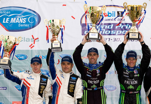 【Honda】ALMS第8戦ボーマンビル パトロン・ハイクロフト・レーシングが2戦連続の総合優勝(1)