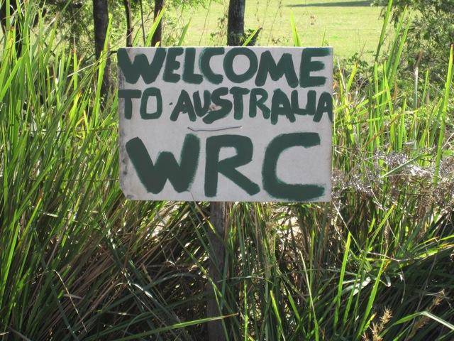 WRC開催現場からのフォトログがスタート!(2)