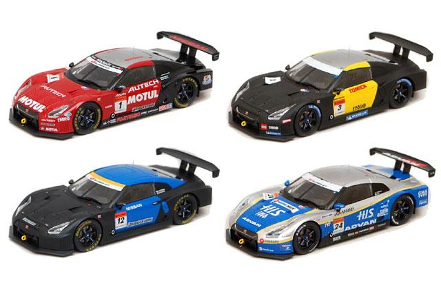 【バリュー・アイズ】Bugzees 1/32スケール SUPER GT公認 2009モデルカー GT-R発売(1)