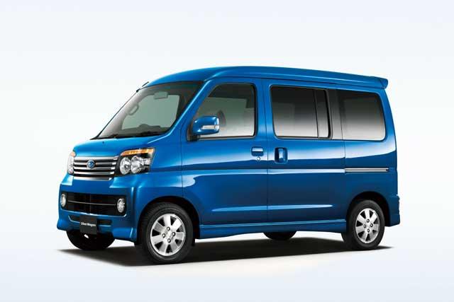 【富士重工業】スバル ディアスワゴン(Dias Wagon)を発売(1)