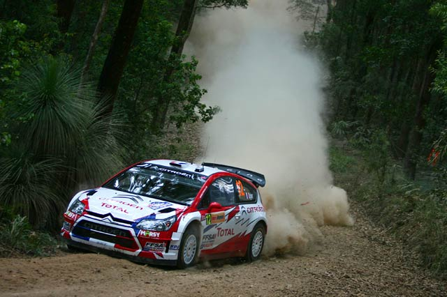 WRC第10戦オーストラリア デイ1:ラトバラが首位を奪取。ローブvsヒルボネンは接戦模様(3)