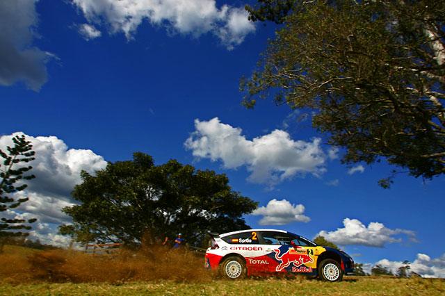 WRC第10戦オーストラリア デイ2:TOP3が0.1秒以内、ソルドが首位も緊迫戦続く(1)