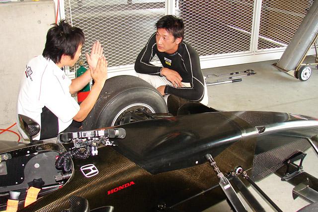 Fニッポン鈴鹿テスト:伊藤、井口、井出がFN09をドライブ(4)