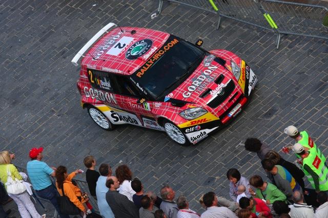 フランソワ・デュバル、サンレモでワークスアバルトをドライブ(2)