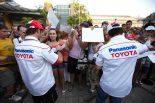 F1   【トヨタF1】トヨタF1チーム ドライバーアピアランス」を開催